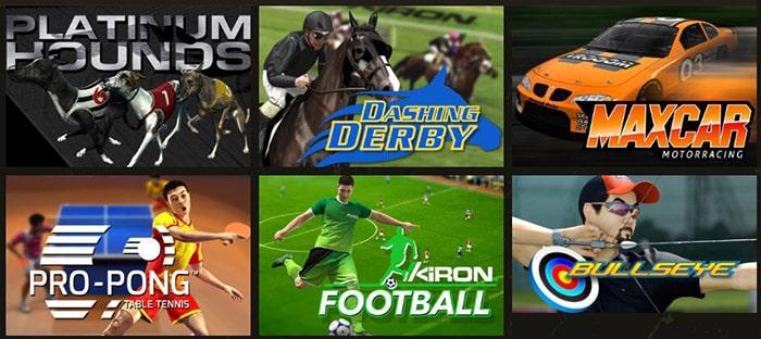 Виртуальный спорт на официальном сайте Argo Casino